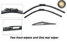 Nissan Qashqai 2006-2013 Brand New Front and rear windscreen wiper blades