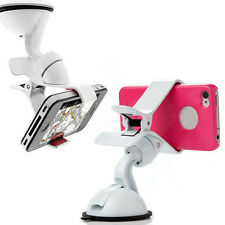 Hot Universal Car Windshield Mount Holder For iPhone 5S 5G 4S iPod GPS White