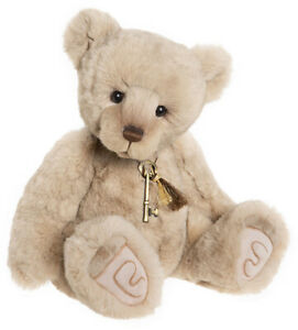 Loveydovey by Charlie Bears - jointed plush collectable teddy bear - CB202043A