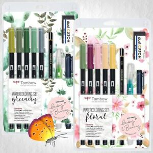 Tombow Watercoloring Sets