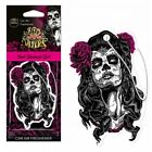 Aroma Day Of The Dead Pink Diamond Girl Car Air Freshener 5g S59078   Free Post
