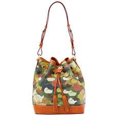 AUTHENTIC Dooney & Bourke CAMOUFLAGE DUCK DRAWSTRING handbag