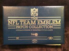 NFL TEAM EMBLEMS PATCH COLLECTION BOOK (30 TOTAL PATCHES)
