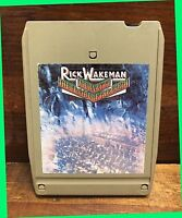 RICK WAKEMAN Journey to the Center of the Earth A&M Track Tape Progressive VGC