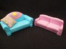 Dora the explorer furniture.  Couch that pulls out to bed and small love seat