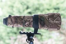 Camouflage Lens Cover for Sigma 500mm f4.5 Ex or EX DG ( Neoprene Camo )