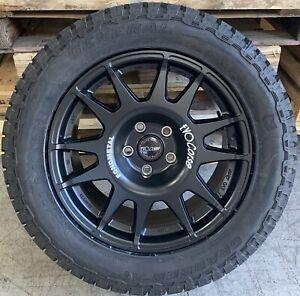 "EVO Corse DakarZero 18"" VW Transporter 4x4 Alloy Wheels & Grabber AT3 Tyres x4"