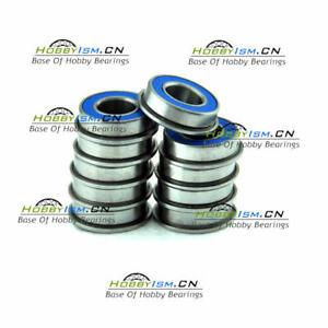 8x16 x5Fmm Blue Rubber Seals Ball Bearings ABEC-3   MF688 2RS (10PCS) F688 2RS