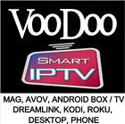 IPTV VOODOO SUBSCRIPTION 1 MONTH -10k+ VOD 3k+ Channels