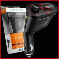 NEW Wireless Car FM Transmitter MP3 Radio USB Charger Hands-Free iPads iPods Red