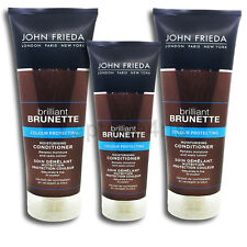 John Frieda Brilliant Brunette Colour Protect Moisturising Conditioner 250ml New