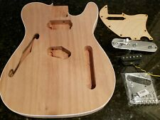Tele Body Semi Hollow Guitar project Kit