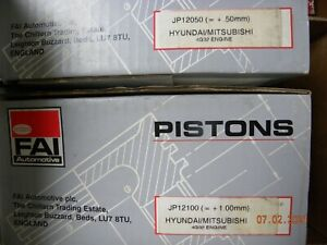 4 King Pistons, Hyundai/ Mitsubishi