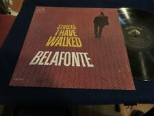 HARRY BELAFONTE STREETS I HAVE WALKED 1963 RCA VICTOR LPM 2695 RARE MONO COPY DG
