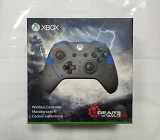 "Microsoft Xbox One Gears of War Gray/Blue Wireless Controller ""NEW/SEALED"""