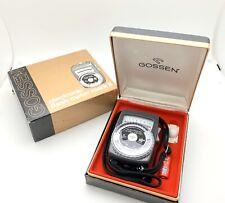 Vintage Gossen Electronic Flash Meter Mark II In Good Condition!