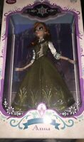 "Disney Store Limited Edition 17"" Anna Doll Summer LE5000 (Doll 1064 of 5000)"