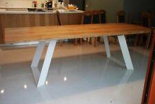 2x Piedi per tavolo, Gambe  Desing metallo  nero bianco silver DIY INDUSTRIAL