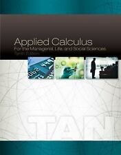 Applied Calculus for the Managerial, Life, and Social Sciences Soo T. Tan 10th