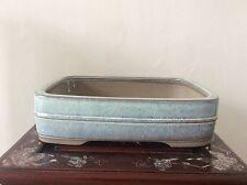 Japanese Vintage Bonsai Pot signed 立花  / W 33 × 24.7 × H 8.5[cm]  3320 g