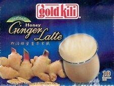 Gold Kili Honey Ginger Latte 10 bags 180 Gram Box