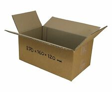 100 270x160x120mm 3kg Satchels mailing boxes Shipping cartons cardboard Boxes