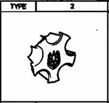 TOYOTA 42603-22370 Wheel Hub Ornament Center Cap 4 Sets Genuine MARKII Type 2