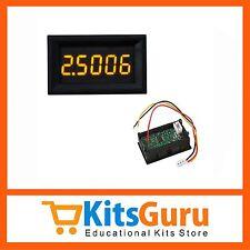 Yellow LED 5 Digit DC 0-4.3000-33.000V Digital Voltmeter Voltage Meter Car KG616
