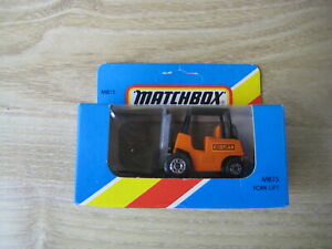 MATCHBOX SUPERFAST   MB15  FORK LIFT   Orange Hi Lift    ABSOLUTELY MINT