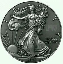 2016 1 Oz Silver $1 ANTIQUE FINISH AMERICAN EAGLE Coin.