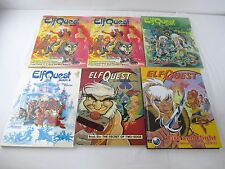 Lot 6 Elfquest Books 1,2,4,6 and HC Fire and Flight