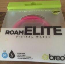 Breo Roam Elite Digital Watch Med Silicone Strap Water Resist 5 ATM