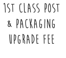 Postage & Packaging Cost or Upgrade