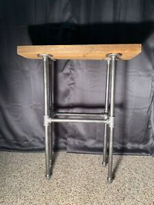 Iron Pipe End Table