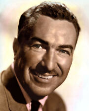 "ADAM CLAYTON POWELL Jr PASTOR POLITICIAN 8x10"" HAND COLOR TINTED PHOTOGRAPH"
