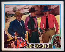 BOSS RIDER OF GUN CREEK BUCK JONES UNIVERSAL WESTERN 1936 LOBBY CARD