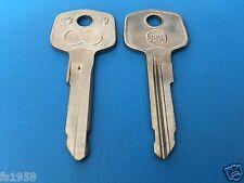 Mercedes W 110, W 111, W 113 Pagode Tür Schlüsselrohling  Börkey Profil 689 1/2
