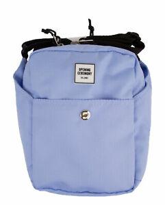 OPENING CEREMONY Mini Snap Crossbody Bag, Baby Blue, One Size