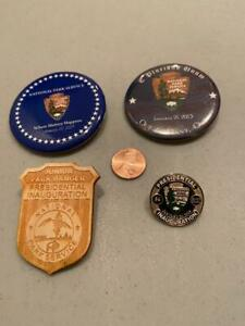 Presidential Inauguration, National Park Service pinback, Junior Ranger Badge