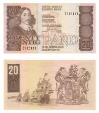 SOUTH AFRICA 20 Rand, Rare replacement note; no thread in paper - P.121b - EF.