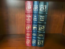 Easton Press-Fitzgerald 3 vol set-Great Gatsby, Side of Paradise, Tender-NM
