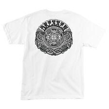 Santa Cruz Eric Dressen Black Roses Skateboard T Shirt White Xl