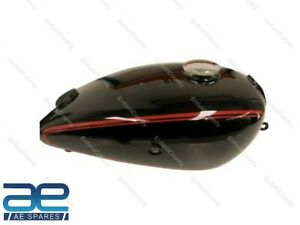 Fits For Horex Regina Black With Red Lining Fuel Gas Petrol Tank with Cap ECs