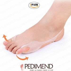 PEDIMEND Bunion Toe Guard Foot Stretcher Big Toe Little Toe Support - Foot Care