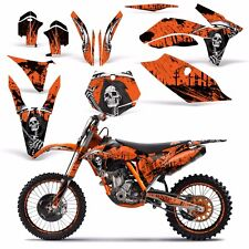 KTM Graphic Kit Dirt Bike Decal Backgrounds SXF,XC,EXC,XCF-W,XC-W 11-13 REAP ORG