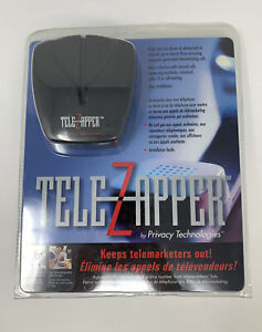 TeleZapper Telephone Telemarketers Blocker Privacy Technologies Tele Zapper