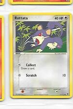 RATTATA - 77/112 - Pokemon - Ex Fire Red Leaf Green - NM = Buy more and save!