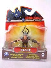 Dreamworks Dragons Defenders Of Berk Hunter Dagur Mini Figure Toy Sealed Rare