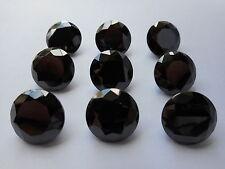 15mm ROUND zirconi nero £ 2,50 P ciascuno.