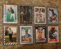 (8) Manny Ramirez 1992 Bowman Foil SP Score Upper Topps Rookie card lot RC 1993